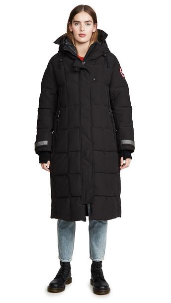 Canada Goose Elmwood Parka in black