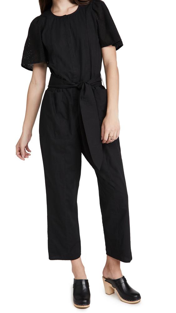 Apiece Apart Nueva Limon Jumpsuit in black