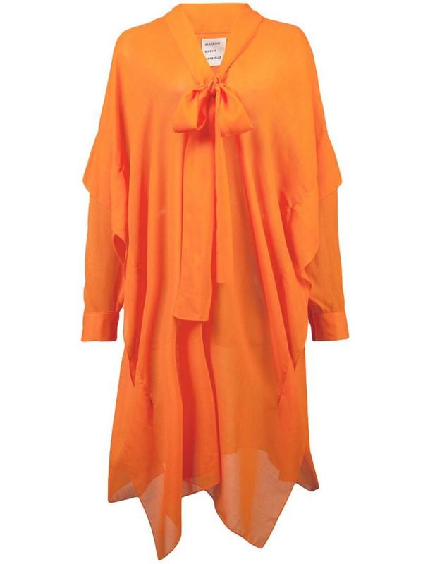 Maison Rabih Kayrouz asymmetric dress in yellow
