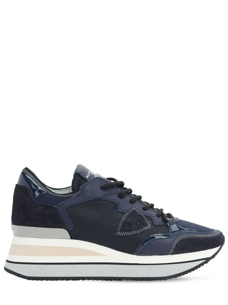 PHILIPPE MODEL Triomphe Mondial Sneakers in blue