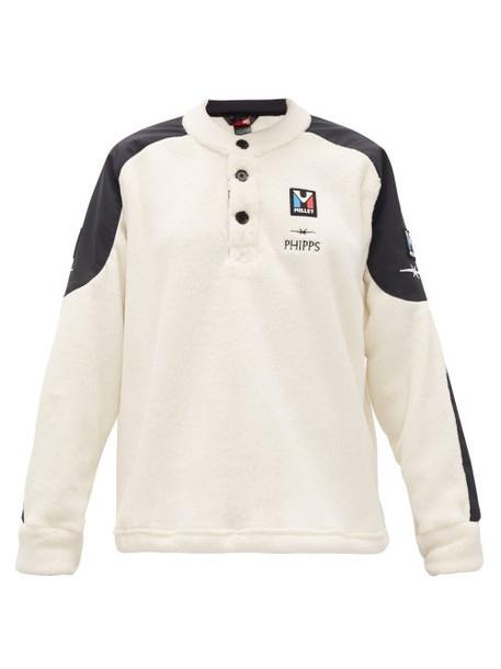 Phipps - X Millet Logo-embroidered Fleece Sweatshirt - Womens - Ivory