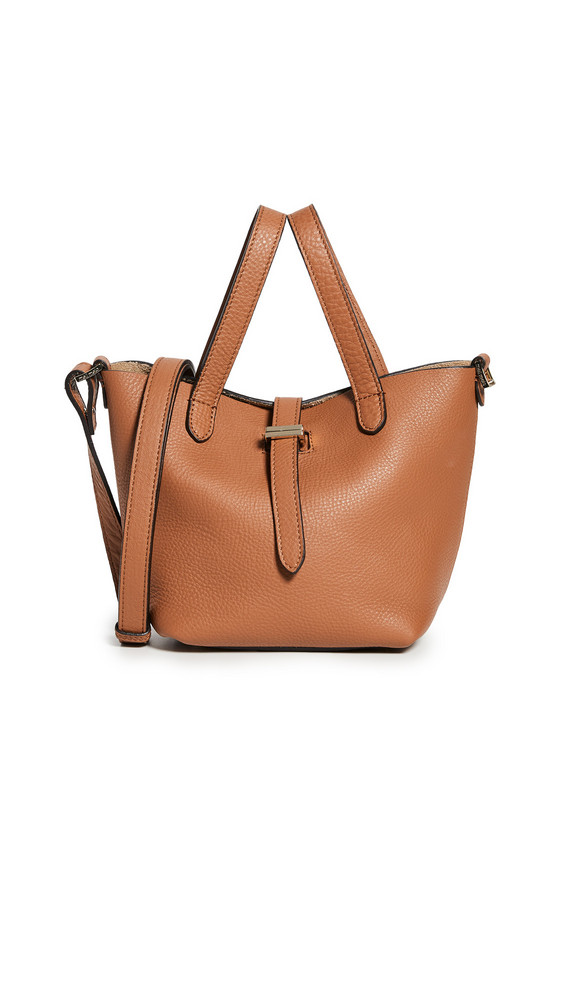 meli melo Thela Mini Shopper in tan