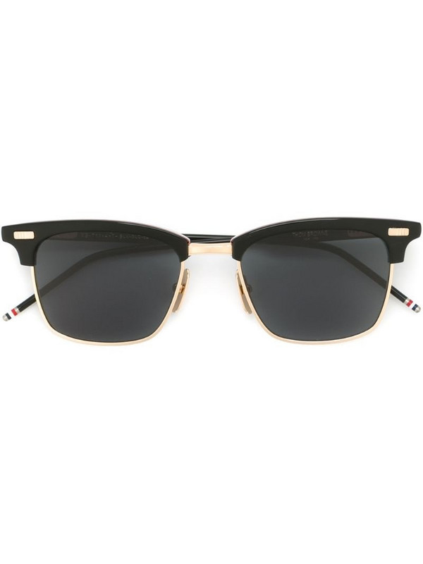 Thom Browne Eyewear square frame sunglasses in black