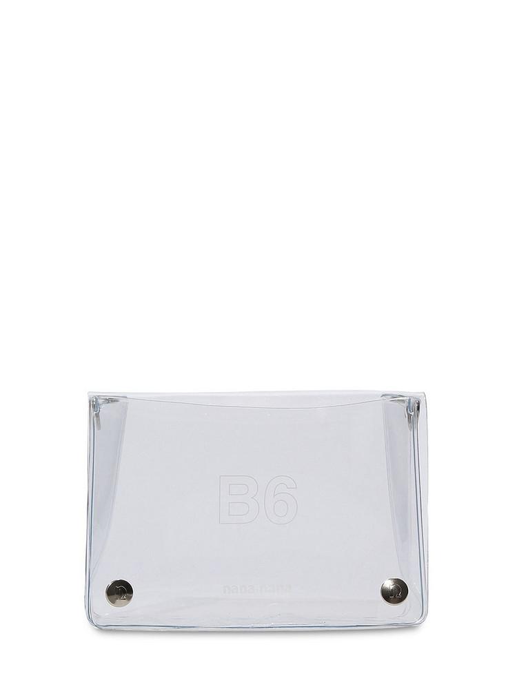 NANA NANA B6 Pvc Crossbody Bag in transparent