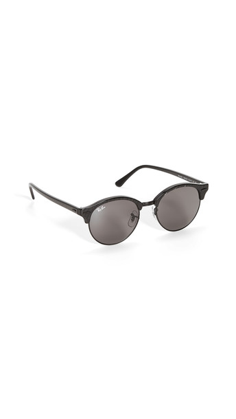 Ray-Ban 51 Clubround Sunglasses in black