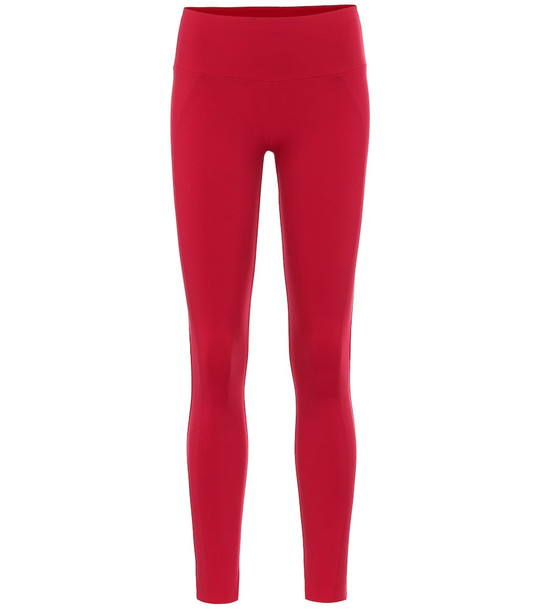 Ernest Leoty Perform high-rise leggings in red