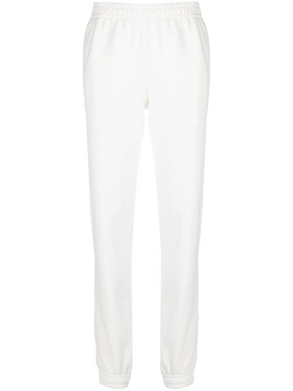 Styland jersey sweatpants in white