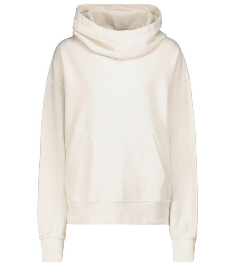 Velvet Ora cotton sweatshirt in white