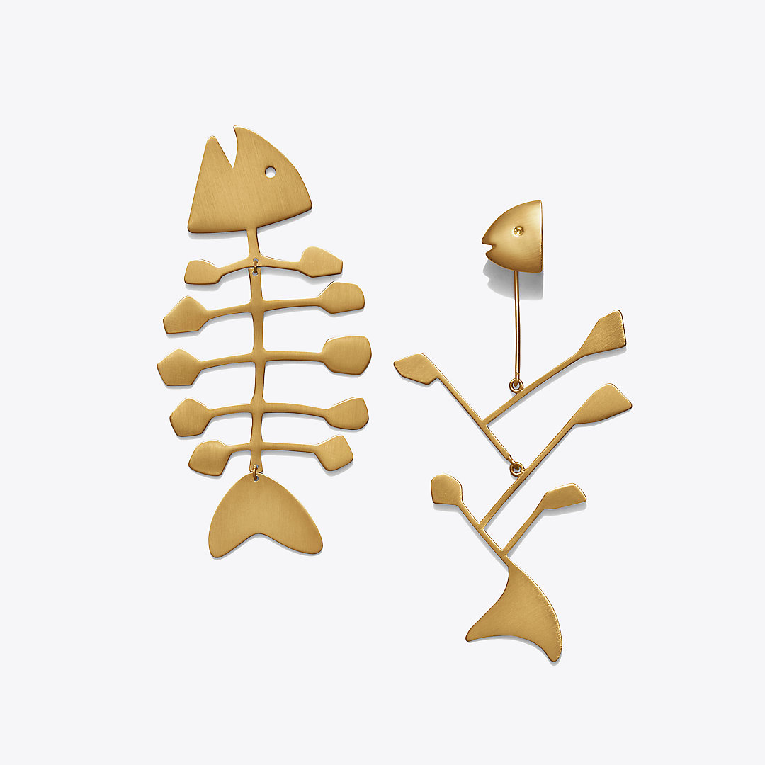 Fish Mismatched Earring