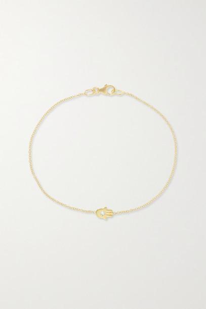 Jennifer Meyer - 18-karat Gold Diamond Bracelet