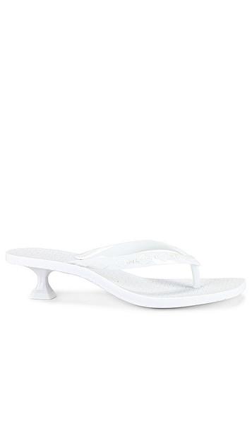Sigerson Morrison Jewel Sandal in White