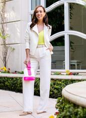 sydne summer's fashion reviews & style tips,blogger,jacket,tank top,pants,bag,belt,jewels,shoes