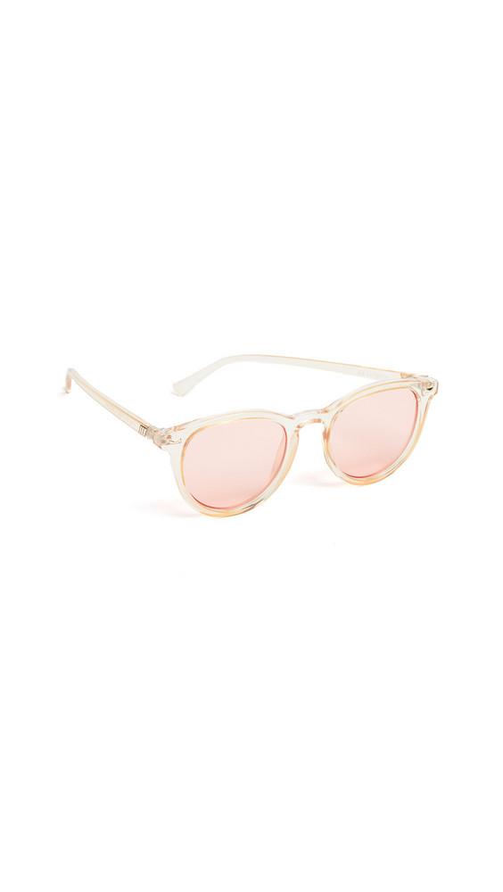 Le Specs Fire Starter Sunglasses in coral