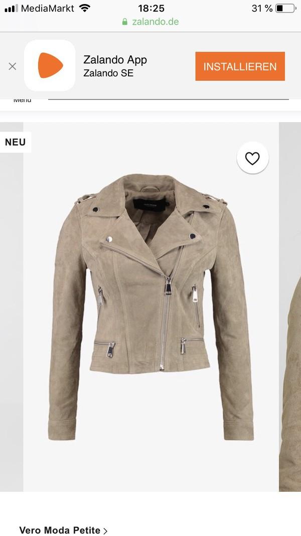 jacket brown jacket suede beige jacket