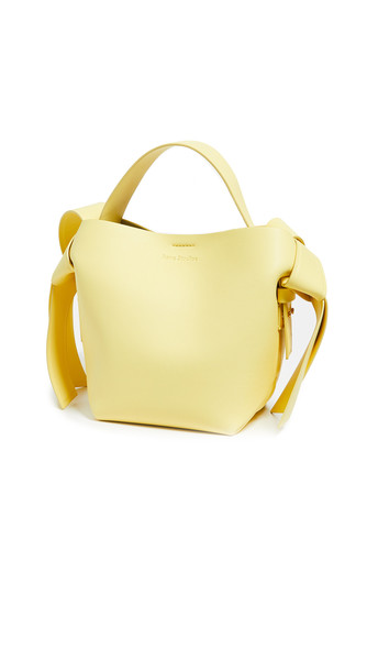 Acne Studios Musubi Mini Bag in yellow