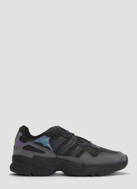 adidas Yung 96 Night Vision Sneakers in Black size UK - 07