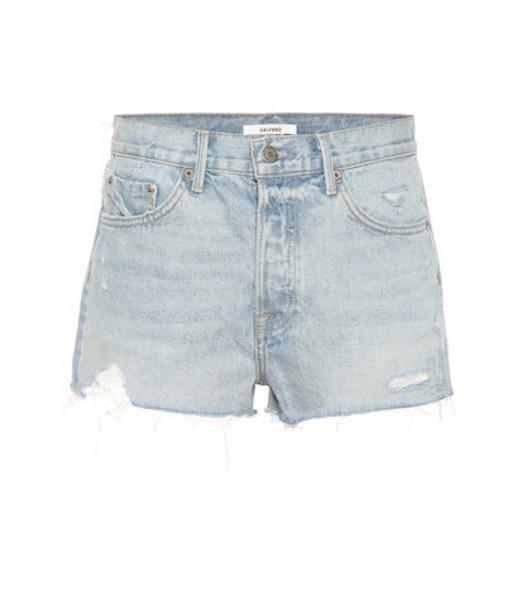 Grlfrnd Kaia denim shorts in blue