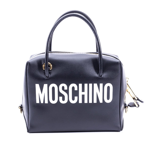 Moschino Leather Bag in black