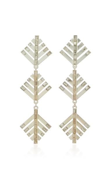 Lulu Frost Cascadia Crystal Drop Earrings
