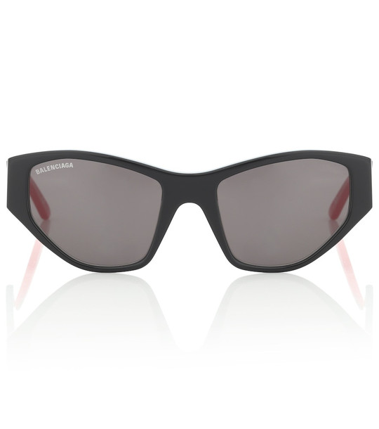 Balenciaga Cat-eye sunglasses in black