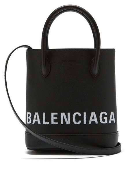 Balenciaga - Ville Xxs Leather Tote Bag - Womens - Black