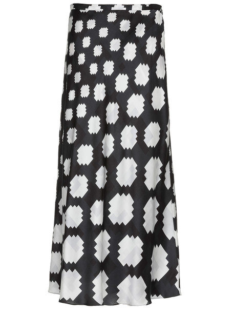Marni Satin Skirt in white