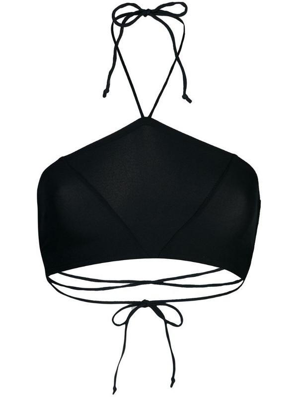 Kiki de Montparnasse bandeau bikini top in black