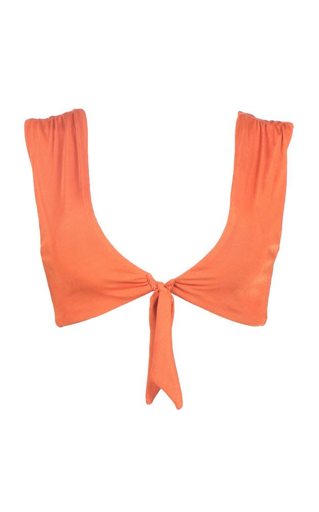 Palmacea Earth 31 Bikini Top Size: M in orange
