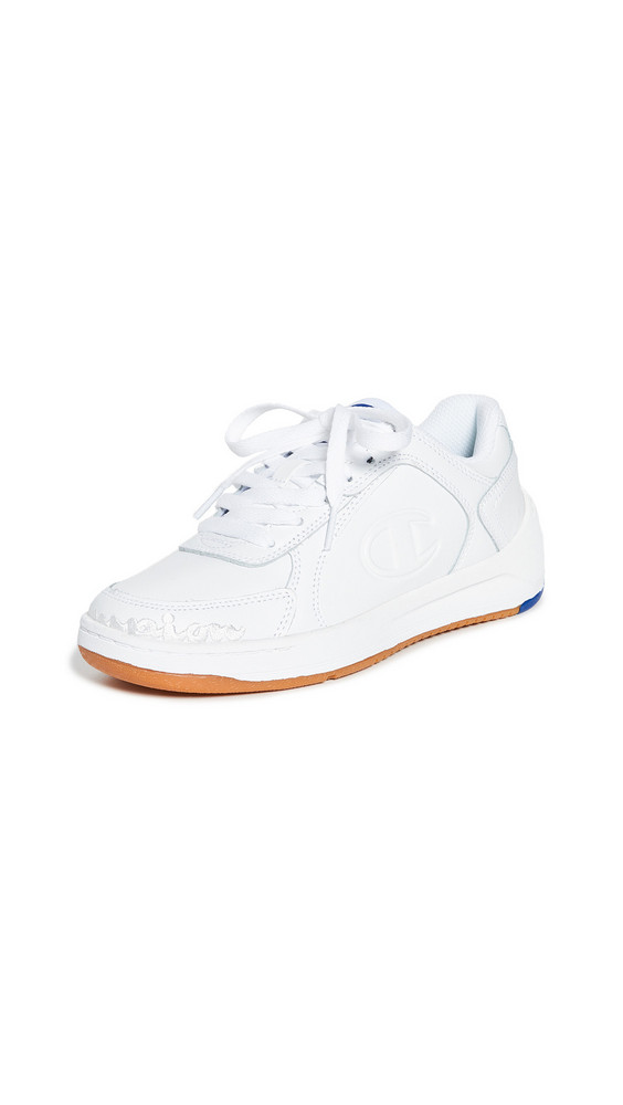 Champion Super C Court Low Mono Sneakers in white