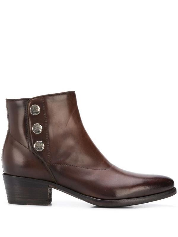 Alberto Fasciani Zoe ankle boots in brown