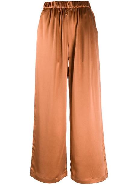 Co Hose wide leg trousers in neutrals