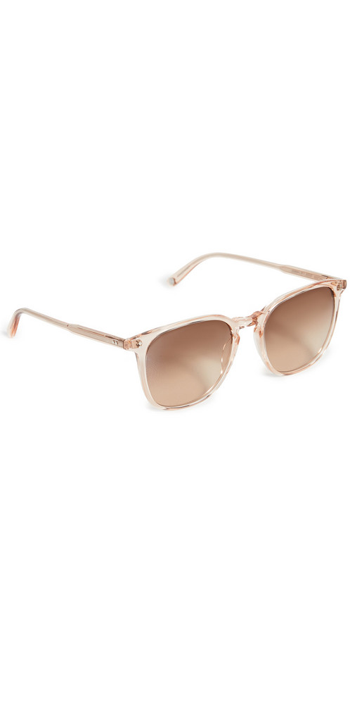 GARRETT LEIGHT Doreen Sunglasses in pink