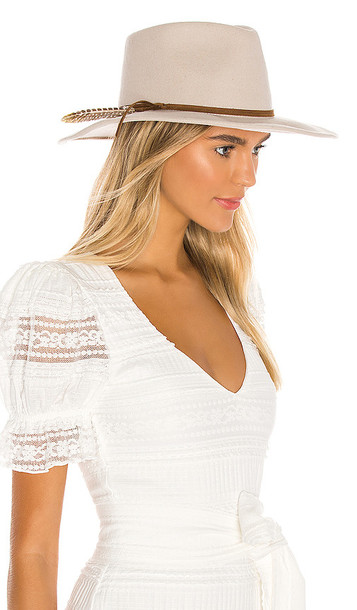 ale by alessandra Leumaria Hat in Taupe