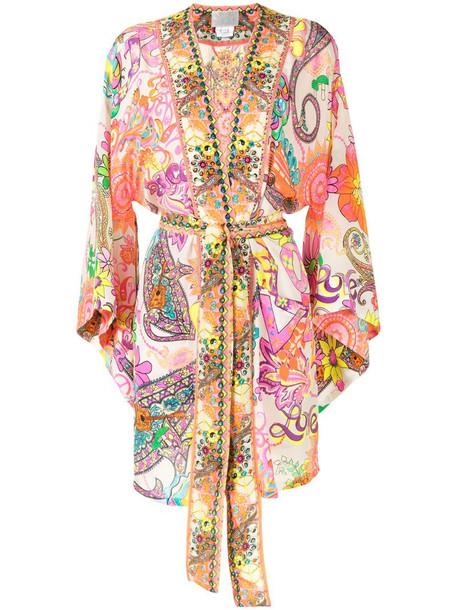 Camilla Let the Sun Shine kimono jacket in neutrals