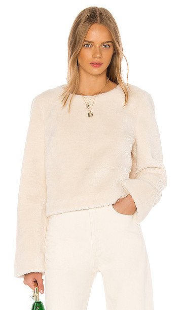 Song of Style Porter Top in Ivory