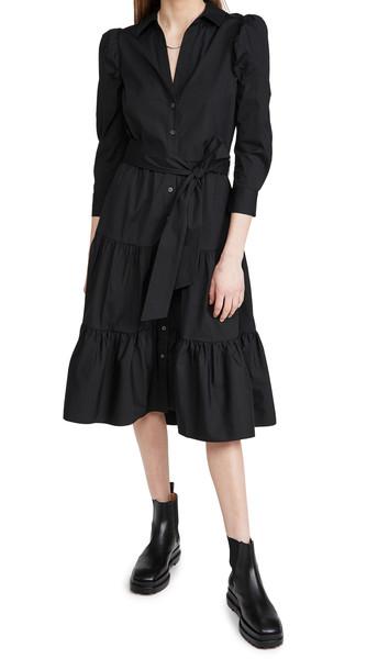 Veronica Beard Zeila Dress in black