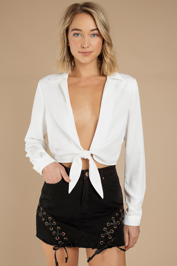 Every Time White Blouse