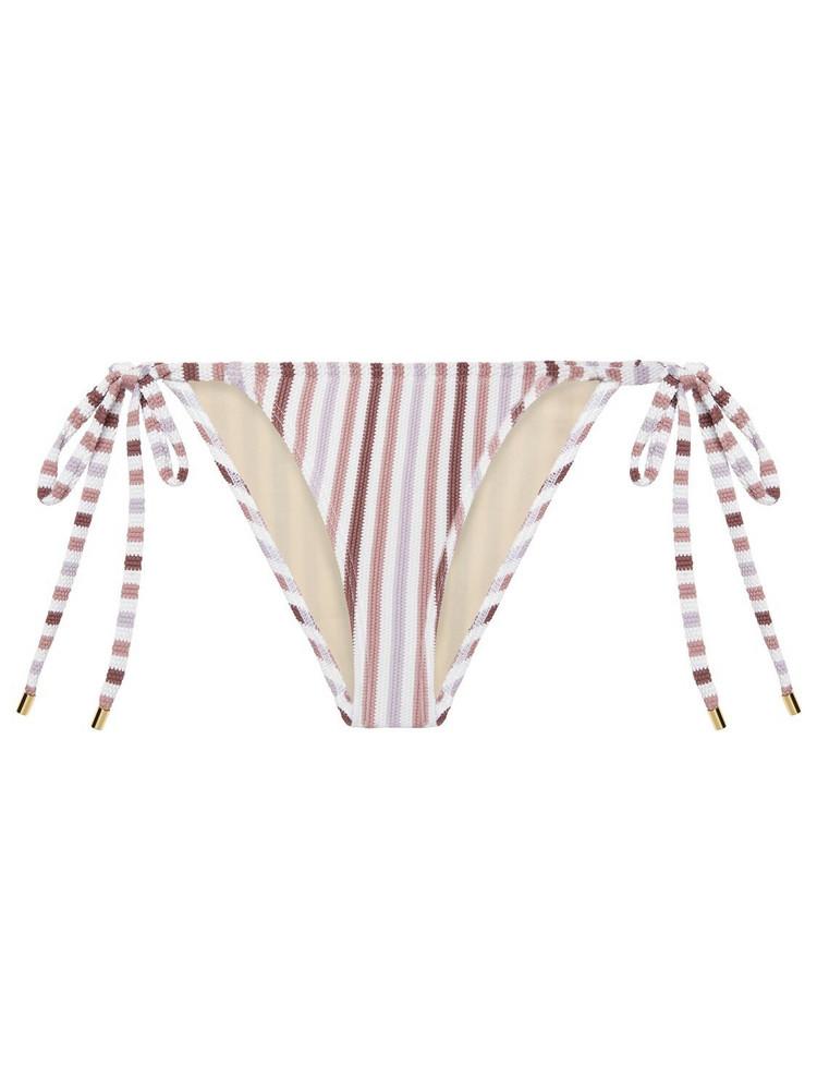 PEONY Parfait Bikini Bottoms in pink / white