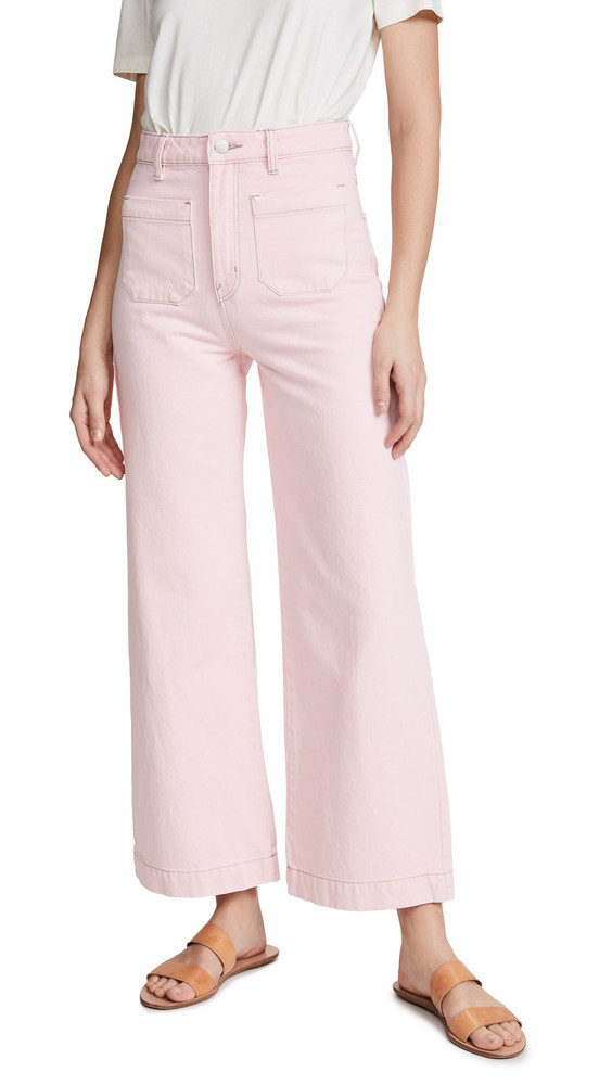 Rolla's Sailor Jeans in pink