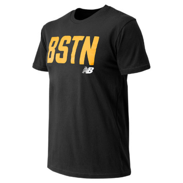 New Balance 63579 Men's Boston City Tee - Black (MT63579BK)
