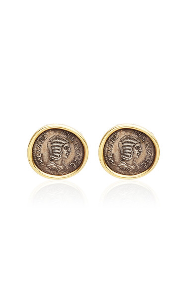 Eleuteri Vintage Bulgari 18K Yellow Gold Earrings