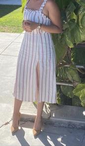 dress,long slit dress,short sleeve dress,long dress,slit dress