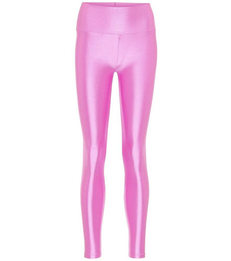 Lanston Sport Malibu sport leggings in pink