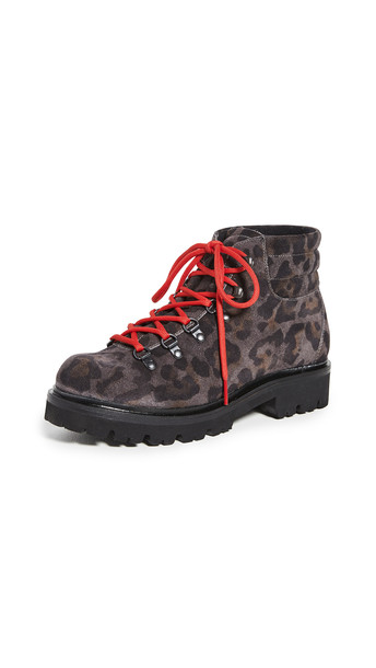Montelliana Anabel Printed Boots in grey