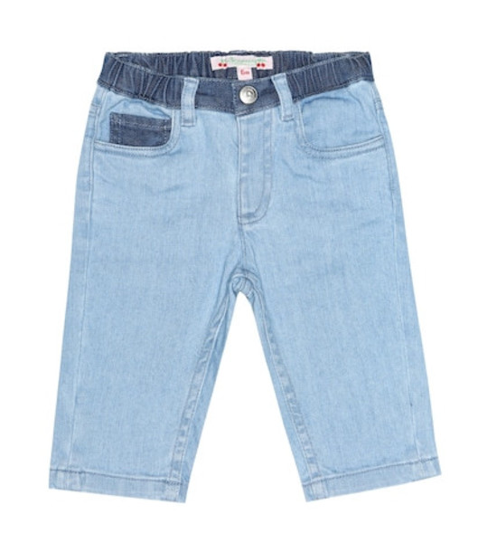 Bonpoint Baby Cookie jeans in blue