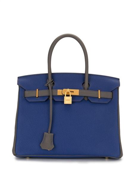 Hermès 2016 pre-owned Birkin 30 bag in blue