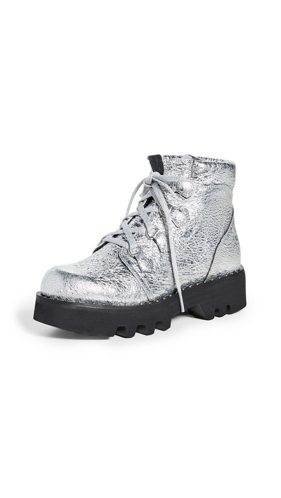 Montelliana Claudine Boots in silver