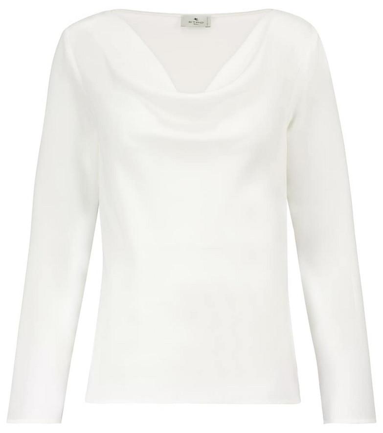 Etro Silk blouse in white