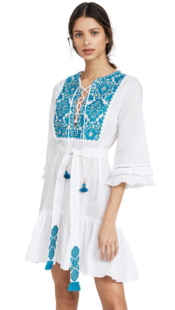 Figue Leona Dress in white