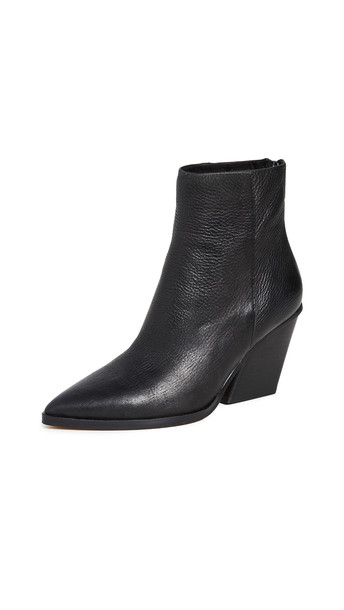Dolce Vita Issa Western Booties in black